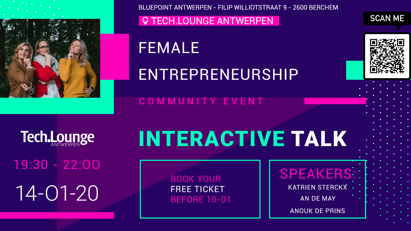 Interactive talk: female entrepreneurship